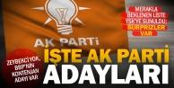 Denizlide Ak Partinin 24 Haziran seçimleri milletvekili aday listesi