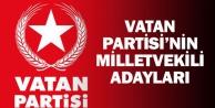 Denizlide Vatan Partisinin 24 Haziran milletvekili adayları