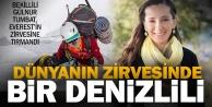 Denizlili Gülnur, Everestin zirvesine tırmandı