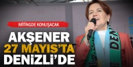 İYİ Parti Cumhurbaşkanı Adayı Akşener Denizliye geliyor