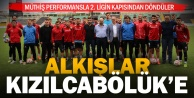 Kızılcabölükspor#039;un büyük başarısı