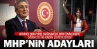 MHP Denizli milletvekili adayları belli oldu