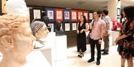 PAÜ Eğitim Fakültesinden karma heykel sergisi