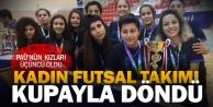 PAÜ Kadın Futsal Takımı 3ncü oldu