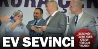 Sarayköy'de ev sahibi olma heyecanı