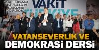 Ak Parti İl Başkanı Filiz: Milletimiz istikrardan, huzurdan, güven ve barıştan yana tavır koydu