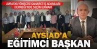 AYSİAD  Başkanlığına  eğitimci Mahmut  Catlık seçildi