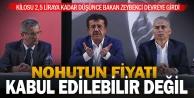 Bakan Zeybekci#039;den, nohut üreticilerinin dikkatini çekecek açıklama
