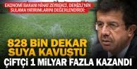 """Bakan Zeybekci: Denizli 3 milyar liralık yatırımla suya ve fidana doydu"""""""