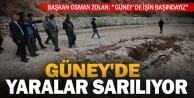 """Başkan Osman Zolan: """"Güney'de işin başındayız"""""""
