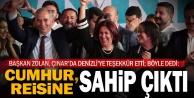 Başkan Zolan: Denizlim, 'Vakit Türkiye Vakti dedi