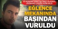 Beyağaç'ta eğlence mekanında cinayet
