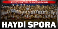 Büyükşehir Yaz Spor Okul kayıtları başladı