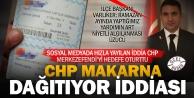 CHPnin yardım çeki, seçim rüşvetidir, iddiası ortalığı karıştırdı