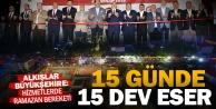 Denizli Büyükşehir 15 günde 15 tesisi hizmete sundu
