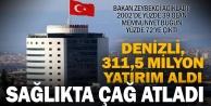 """Ekonomi Bakanı Zeybekci: Denizlimize 311,5 milyon liralık sağlık yatırımı aktardık"""""""