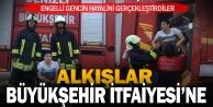 Engelli Ahmet#039;in iftaiyeci olma hayalı gerçekleştirildi