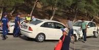Hintli turist kazada yaralandı