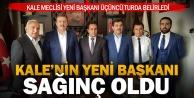 Mehmet Salih Sağınç Kale'nin yeni belediye başkanı