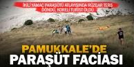 Yamaç paraşütü yere çakıldı, Güney Koreli turist öldü