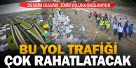 Yeni çevre yolu bölge trafiğini rahatlatacak