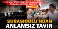 Başkan Subaşıoğlu, 15 Temmuz törenlerine katılmak yerine dondurma dağıttı