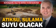 Büyükşehir'den Kale'ye atıksu arıtma tesisi