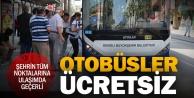Büyükşehir otobüsleri 15 Temmuza özel ücretsiz