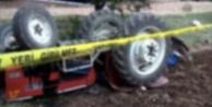 Devrilen traktörün altında kalan yaşlı adam öldü