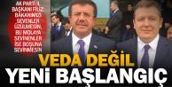 Filizden Bakan Zeybekci açıklaması: Bu bir veda değil