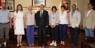 İş dünyası temsilcilerinden Başkan Zolana ziyaret