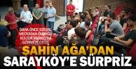 Şahin Ağa'dan Özbaş'a kültür merkezi teşekkürü