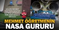 Süllerli Mehmet Öğretmen NASAnın eğitim kampında