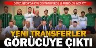 Denizlispor#039;da yeni transferler görücüye çıktı