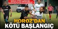 Denizlispor - Gazişehir Gaziantep: 0-1
