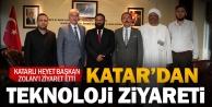 Katarlı heyetten Başkan Osman Zolana ziyaret