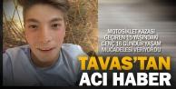15 yaşındaki Eyüp motosiklet kurbanı