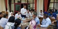 Ak Parti Pamukkalede 14 mahalleli toplantı