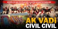 Ak Vadi Festivali çok renkli başladı
