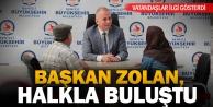 Başkan Osman Zolanla Halk Günü#039;ne yoğun ilgi