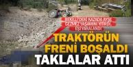 Bekilli'de traktör kazası: 1 kişi öldü, 1 kişi yaralandı