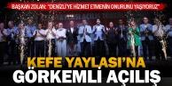Büyükşehir'in yeniden düzenlediği Kefe yaylası açıldı