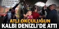 Denizlide Atlı Okçuluk Türkiye Şampiyonası heyecanı