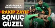 Denizlispor - Eskişehirspor: 4-1