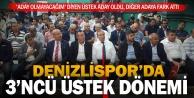 Denizlisporda kongre sonucu: Üstek yeniden başkan
