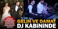 DJ gencin renkli düğünü