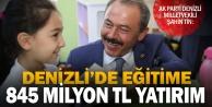 Tin: 15 yılda eğitime 845 milyon lira yatırım