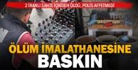 2 kişinin ölümüne neden olan alkol imalathanesine baskın