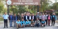 Başkan Akcan'dan temizlik işçilerine kahvaltı