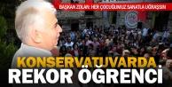 Büyükşehir Konservatuarı#039;nda rekor açılış